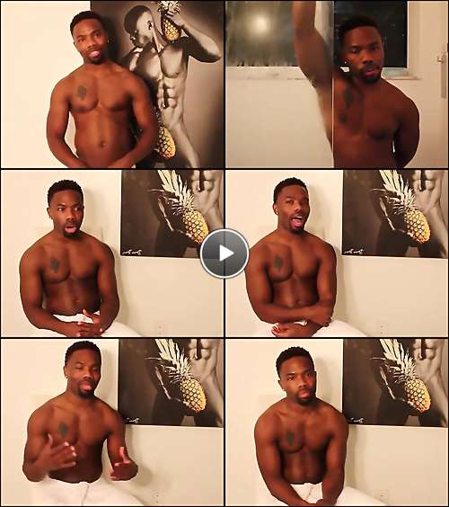 black sexy men porn video