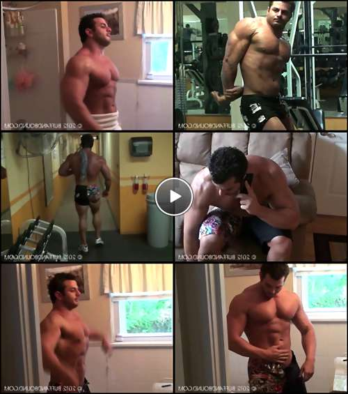 gay muscle man porn video